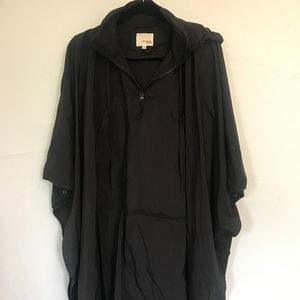 Wilfred Free NylonShort Poncho Cape with arm snaps